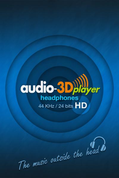 Audio-3D Player HD〜普通のイヤホンが高級ヘッドホンに!?〜