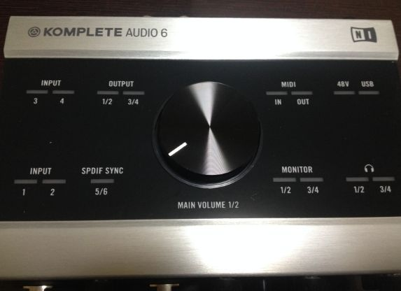 Komplete Audio6の独立ボリュームがめちゃくちゃ便利!