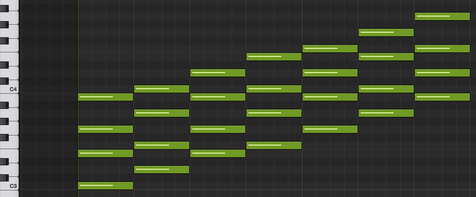 4和音でのコードも知っておくとおしゃれになる。〜コードの基礎知識〜